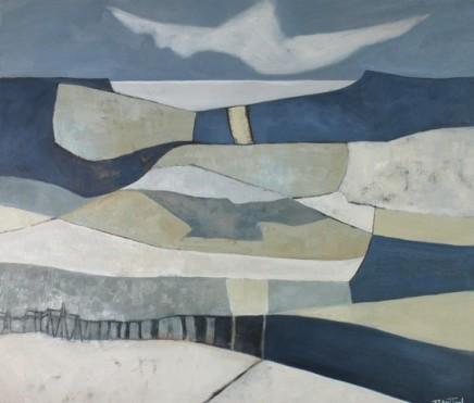"""Teresa Lawton CLOUD SHADOW Oil on canvas 12"""" X 14"""""""