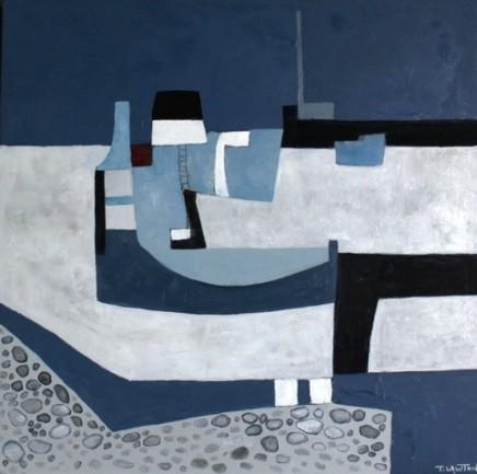 "Teresa Lawton THE COBB Oil on canvas 12"" X 12"""