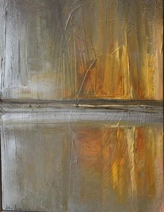 """Jethro Jackson POLZEATH SUNSET II Oil on board 12"""" x 16"""""""