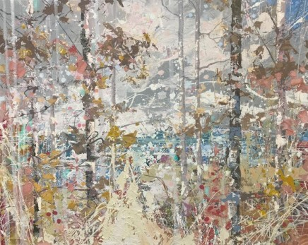 Paul Treasure NESTING GROUND Oil on canvas 120 X 150cm
