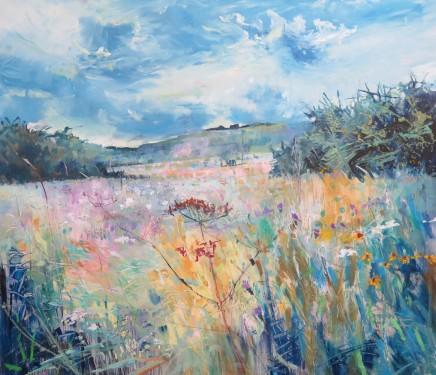 "Maureen Davies STORM BREWING Oil on canvas 27"" X 24"""
