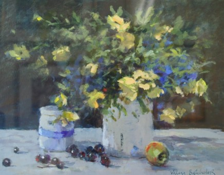 Valerie Batchelor - YELLOW AND BLUE