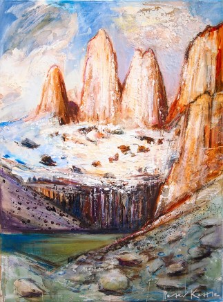 Peter Kettle, TORRES DEL PAINE, THREE TOWERS, 10AM