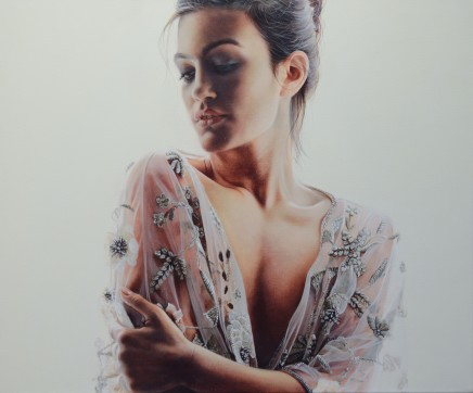 """Trudy Good WHEN THE LIGHT FLOODS IN Oil on canvas 16"""" x 24"""""""