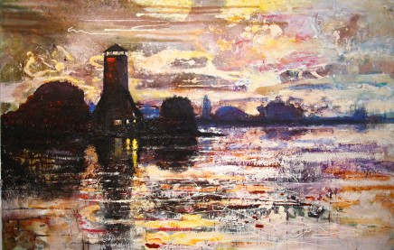 Peter Kettle, THE MILL, LANGSTONE HARBOUR - HAMPSHIRE