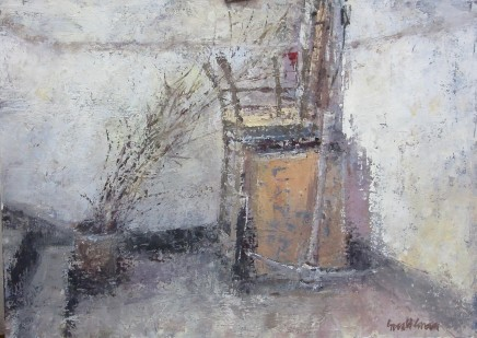 """Gerald Green AWAITING COLLECTION Oil 12"""" X 16"""""""