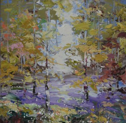 "Paul Treasure  SPRING  Oil on canvas  24"" X 24"""