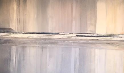 "Jethro Jackson POLZEATH SURF Oil on board 35"" x 59"""