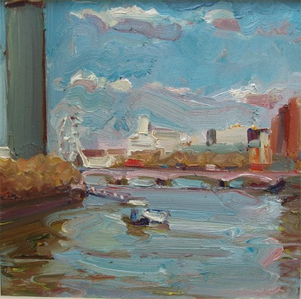Lawrence Quigley - VIEW FROM LAMBETH BRIDGE