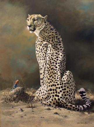"Karen Laurence-Rowe OVER LOOKED Oil on Canvas 37"" x 27"""