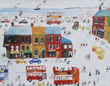 Simeon Stafford, Town By the Sea, 2004