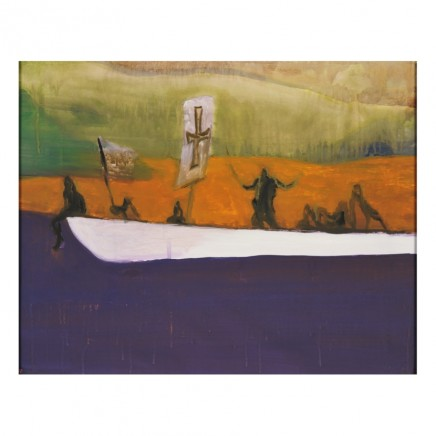 Peter Doig, Canoe, 2008