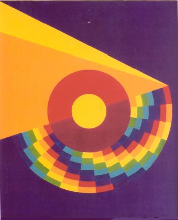 Kathleen Hyndman, Rolling Sun and Cloud, 1978