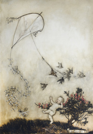 Arthur Rackham, Peter Pan, 1906