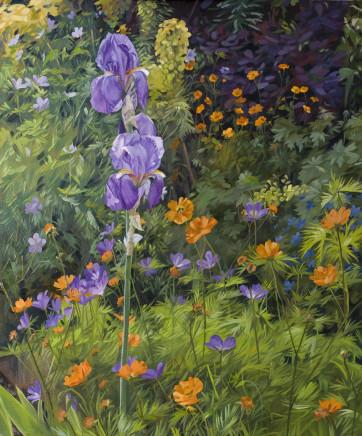 Mark Draisey, A May Garden, 2019