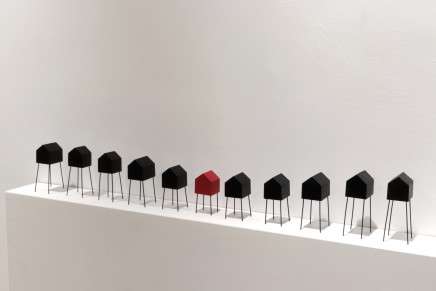 Roger Perkins, All in a Line, 2019