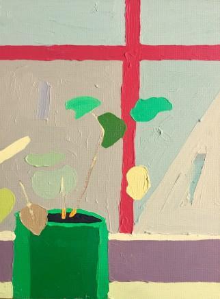 Sam Wadsworth, Geranium with Red, 2016