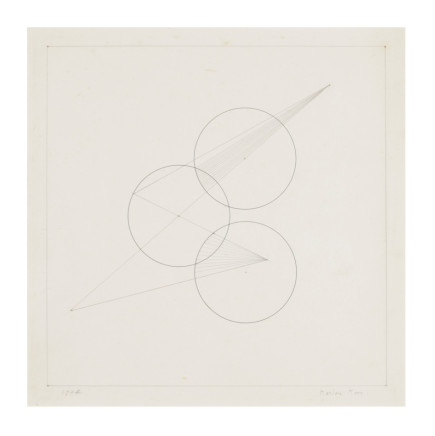 Marlow Moss, Untitled (Work on Paper, no.13), 1944