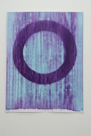 Peter Care, Volatile Ring I Blue/Violet, 2019