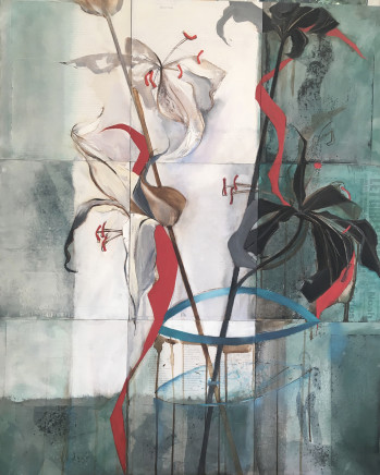 Lin Kerr, Lilies for Alison, 2020