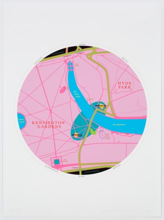 Michael Craig-Martin (b.1941), Map, 2013
