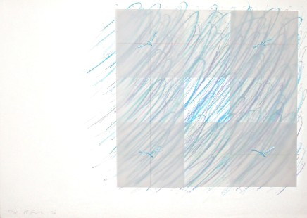 Richard Smith, Florentine II (blue), 1973
