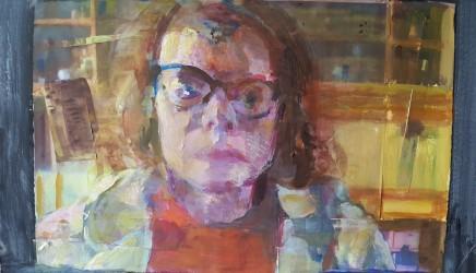 Jane Kelly, Zoom Face 1, 2020