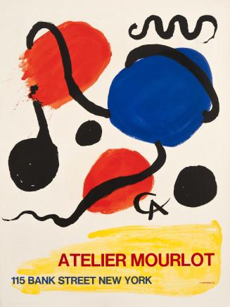 Alexander Calder, Atelier Mourlot, Bank Street, New York , 1967