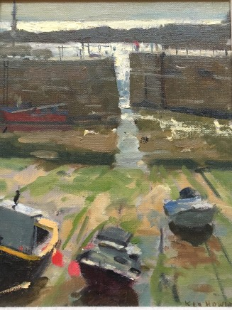 Ken Howard OBE RA, Mousehole