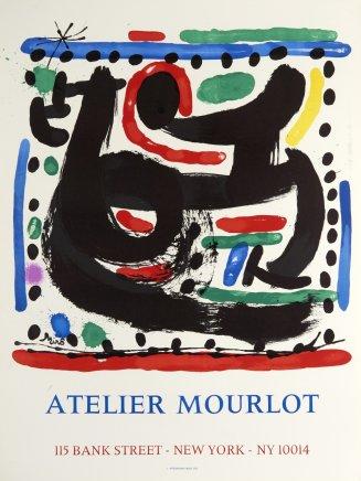 Joan Miró, Atelier Mourlot, Bank Street, New York, 1967