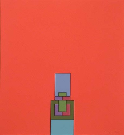 Robyn Denny, The Heavenly Suite (red), 1971