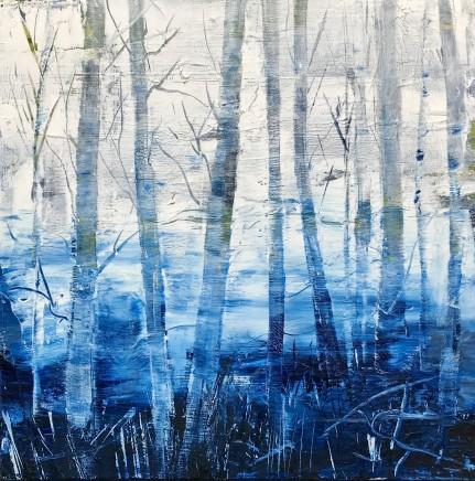 Sarah Bond, Winter Trees, 2019
