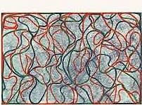 Brice Marden, Distant Muses, 2000