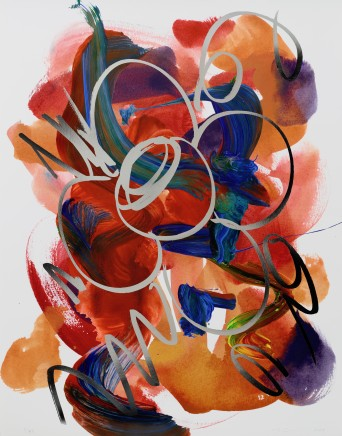 Jeff Koons, Flower Drawing, 2019