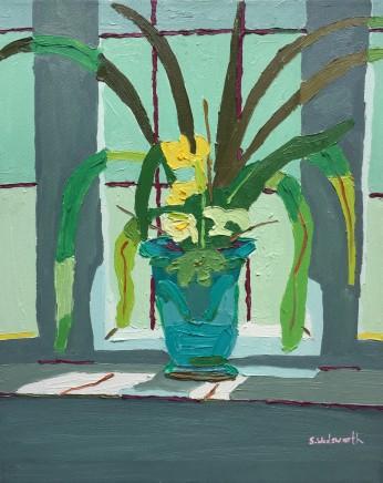 Sam Wadsworth, Blue Vase Towndrow Window, 2014