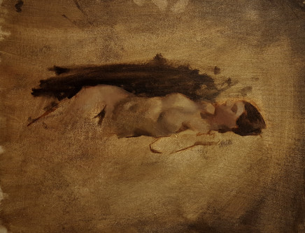 Joni Hirata Duarte, Reclining Nude, 2019