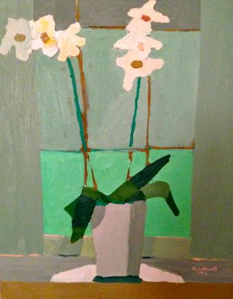 Sam Wadsworth, White Orchid