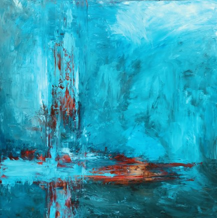 Jane Vaux, Abstract Water, 2019