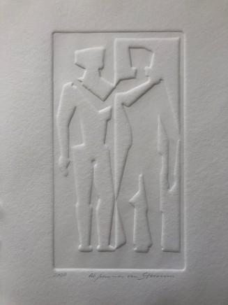 Johannes Von Stumm, Couple in Conversation, 2020