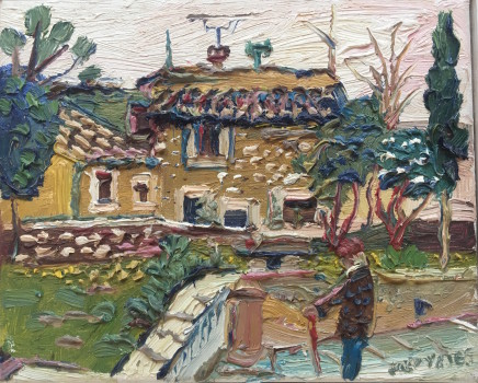 Fred Yates, Yellow House