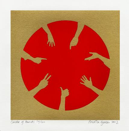 Nicola Green, Circle of Hands, 2013
