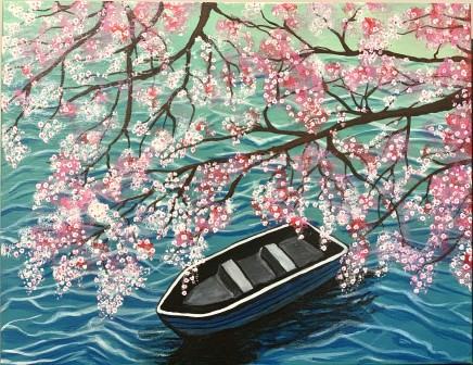 Jyoti Parimi, Cherry Blossom, 2020