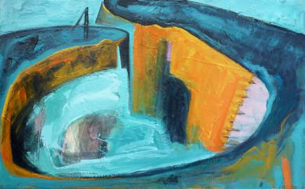 Antonia Glynne Jones, Charlestown Harbour II, 2020