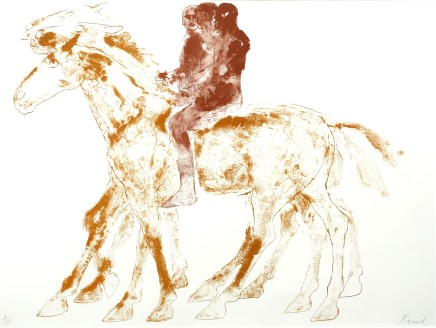 Dame Elisabeth Frink, The Three Riders, 1974