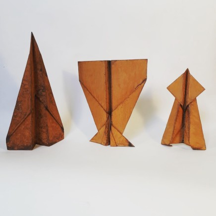 Samuel Zealey, Maquettes for Concorde, Cross Wing and Inverted Wing, 2018