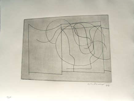 Ben Nicholson, O.M., Flowing Forms, 1967