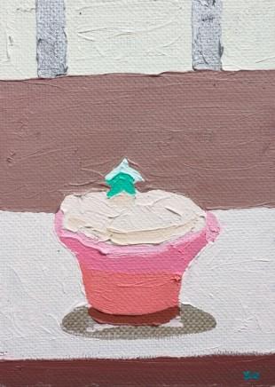 Sam Wadsworth, A Cake for Hughie - green star, 2017