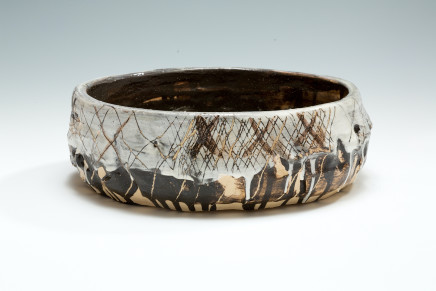 Anthony Eccles, Cross Hatched Bowl, 2019