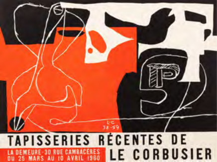 Le Corbusier, Tapisseries Recentes de Le Corbusier, 1960