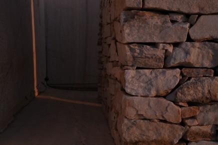 Julie Brook, Divided Block, Evening Light - Onjuva Quarry, Orupembe [H. 197 cm L. 275 cm W. 215 cm], 2012